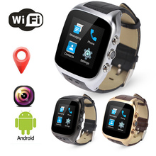 X01S Google Android Smart Watch Phone Reloes j Relogios Invictas Heart Rate Monitor 8GB WCDMA 3G Bluetooth GPS Wifi PlayStore