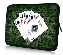 "Poker 15"" Laptop Bag Case Cover For 15.6"" HP Pavilion,Dell ,Acer Notebook"