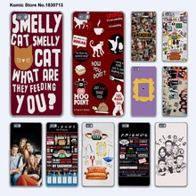 FRIENDS FUNNY TV SHOW LOGO Best Friends Forever hard transparent phone Cover Case for huawei P9 P8 Lite P9Plus P7 Mate 9 Mate S(China)