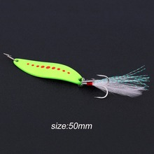 YAPADA 5g/7.5g/10g/15g/20g Zinc Alloy Spinner Spoon Fishing Lure Hard Baits Sequins Noise Paillette with Treble Hook