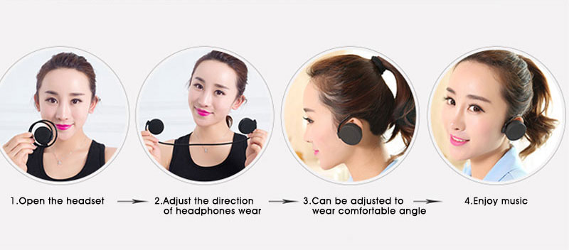 Bluetooth earphone Headphones Sport binaural Wireless Bluetooth Headset Running Stereo audifonos 10