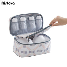 Travel Bra Organizer Bag Underwear Pouch Waterproof Personal Garment Case Mulit-Functional Makeup Accessories Product for Women(China)