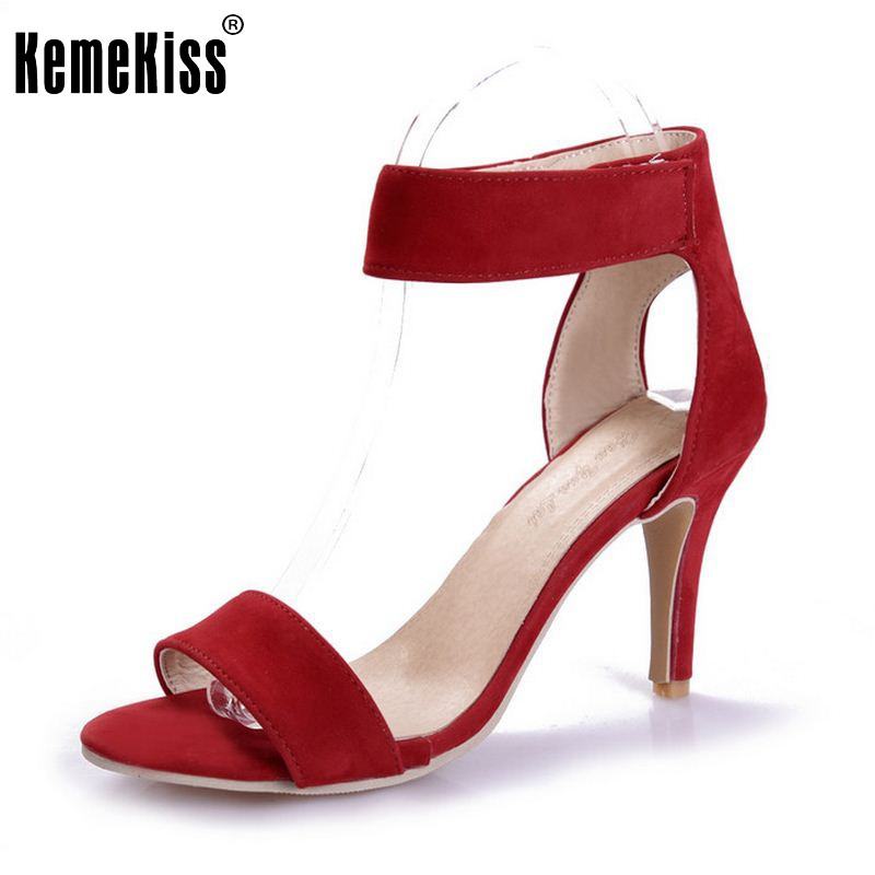 Summer Women T-stage Classic Dancing High Heel Sandals Sexy Stiletto Party wedding Dress shoes Sandalias Size 33-42 PA00490<br><br>Aliexpress