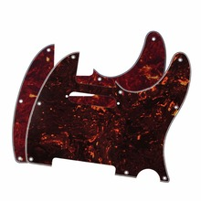 NEW 2pcs Tortoise Shell Pickguard Guitar Pick Guard Scratch Plate Standard Size for TELE Style Guitar