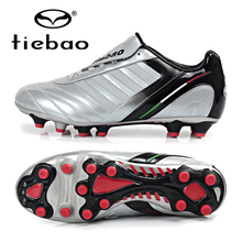 TIEBAO Professional Sneakers Football Boots High Quality AG Soles Soccer Cleats Athletic Sports Training Shoes Chuteira Futebol