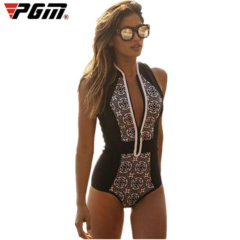 2017 Brazilian Swimwear Bikini Brazilian Swimsuit Bathing Suit Black Floral Print Beachwear One Piece Women Swimwear BK447<br>