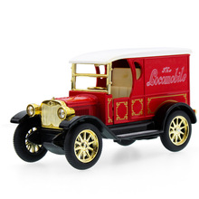 1:32 Retro Classic Car Vintage Vehicle Diecast Alloy Metal Luxury Car Model Collection Model Pull Back Toys Car Gift For Boy 12(China)