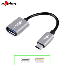 Effelon USB-C 3.1 Type C Male to USB 3.0 Cable Adapter OTG Data Sync Charger Charging For MacBook Nexus 5X Nexus 6P ZUK Z1