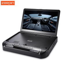 Zeepin 13.3 Inch 1080P 120 Degree Rotating Screen OS-1336D Car Multimedia Player FM Remote Control Roof Mount Car DVD Player(China)
