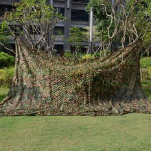 New 2*4M Hunting Military Camouflage Net Woodland Army Camo netting Camping Sun Shelter Tent Shade sun shelter(China)