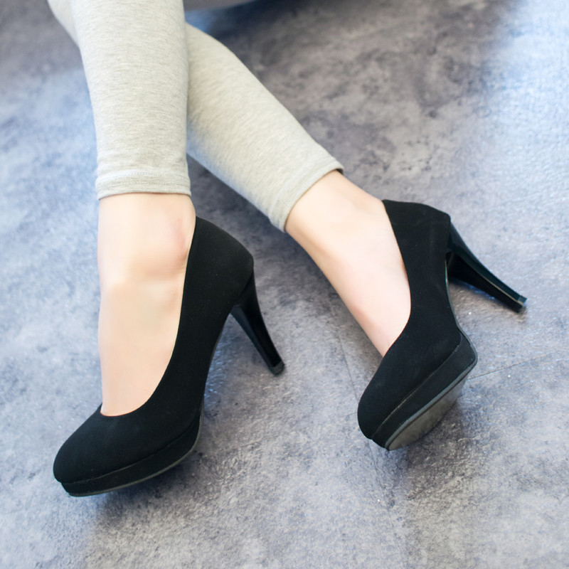 2017 New arrival spring sweet thin high heels with the single shoes OL work shoes womens pumps small size 34 #A02<br><br>Aliexpress
