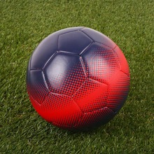 High Quality 5# Soccer Balls Football Blue Red PU Sports Supplies Students Gift
