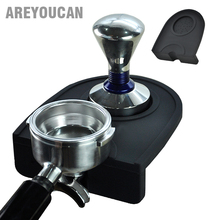 Areyoucan High Quality Espresso Coffee tamper mat Silicon rubber corner mat(no coffee stamper)  Slip-Resistant Pad Tool