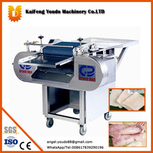 Electric  squid slicing machine sleeve-fish,chicken breast,pork slicer / Seafood processing machine