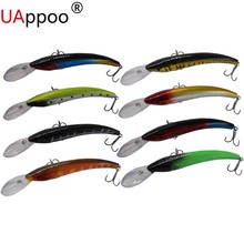 Minnow Crankbait Hard Bait Tight Wobble Jerkbait Slow Floating Epoxy Coating on Finish 16cm 14g Fishing Lure Carp Tackle Goods