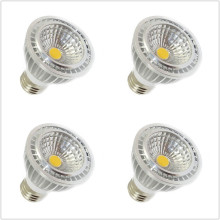 6pcs led bulb light E27 GU10 socket 5W COB par20 led spotlight lamp AC 110V 220V white warm white 3000K 4000K 6500K(China)