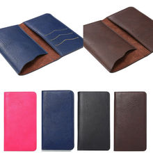 4 Colors Wallet Book Style Leather Phone Pouch Case for Ulefone U007 / Be Pure / Paris / Paris X / Paris Golden with card slots(China)