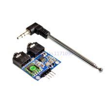 TEA5767 FM Stereo Radio Module for Arduino 76-108MHZ With Free Cable Antenna(China)