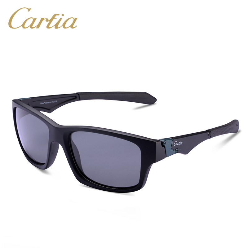 Carfia CA049 men and women polarized sunglasses sport riding sunglass Brand design oculos de sol feminino UV400 with free case <br><br>Aliexpress