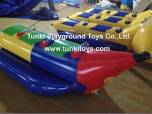 Inflatable water sports banana boat for 3 persons