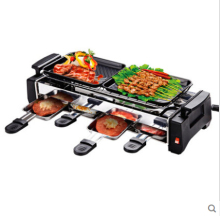 1200w power  Multifunction smokeless Electric grill pan Non-stick  baking pan  Longer  home electric oven grill teppanyaki
