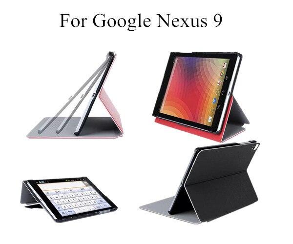 10pcs/lot For Google Nexus 9 case Luxury stand PU Leather Smart Case Stand Cover For 8.9 Google Nexus 9 Tablet PC case<br><br>Aliexpress