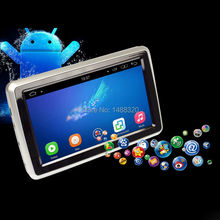 "HD 1080P Android 5.1 Quad-Core 1024*600 Touch Screen 10.1"" Inch Headrest Car Monitor DVD Player + WiFi Bluetooth SD USB Speakers"