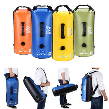 30L Storage Dry Bag Drifting 500D PVC Swimming Waterproof Backpack dry Sack Bladder Camping Hiking Travel Pack