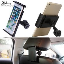 Abbery 360 Rotatable Tablet Holder vehicle headrest car phone holder Car Back Seat Mount Holder for iphone 6S 7plus Samsung S5