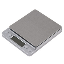 High Accuracy Mini Digital Scale Electronic Scale Platform Jewelry Gold Diamond Scale 500g/0.01g Weighing Balance Blue LCD