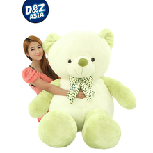 NEW Valentine's Day Gift love teddy bear TED giant plush bear 160cm wholesale plush wedding bear(China)