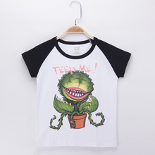 2017 Special Discount Children Clothes Kids T-shirt Corpse flower Cotton Child Boys Short T Shirts Baby Girl Tops Free Shipping(China)