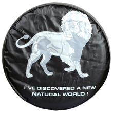 "Monnet High quality Universal Lion pattern Spare Tire Type Cover Size 15"" 16"" 17"" Inch PVC Leather Wheel Covers(China)"