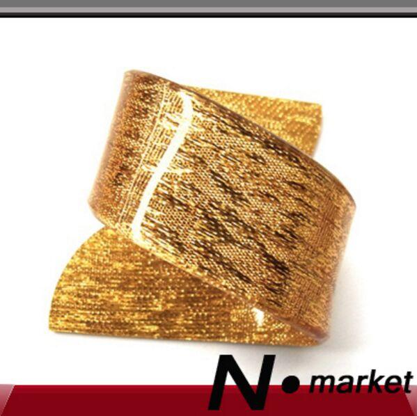 facoty gold plastic napkin ring