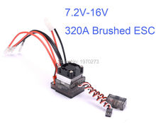 High Voltage ESC 7.2V-16V 320A ESC Brushed Speed Controller RC Car Truck Buggy Boat