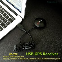 UB-702 USB GPS receiver module antenna,ublox7020 CHIP ,magnetic waterproof  replace globalsat BU-353S4 BU353S4 Smart Antenna