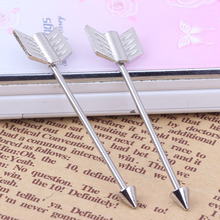1pcs piercing jewelry piercing 14G Wings  surgical Stainless Steel arrow shape industrial piercing