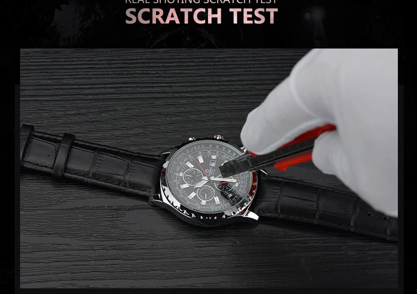 ساعة يد رجالي ماركة كوارتز 12