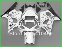 Aftermarket Fairing kit for SUZUKI GSXR1000 GSX-R1000 GSXR 1000 K2 00 01 02 2000 2001 2002 Coroan white black Fairings set SA25(China)