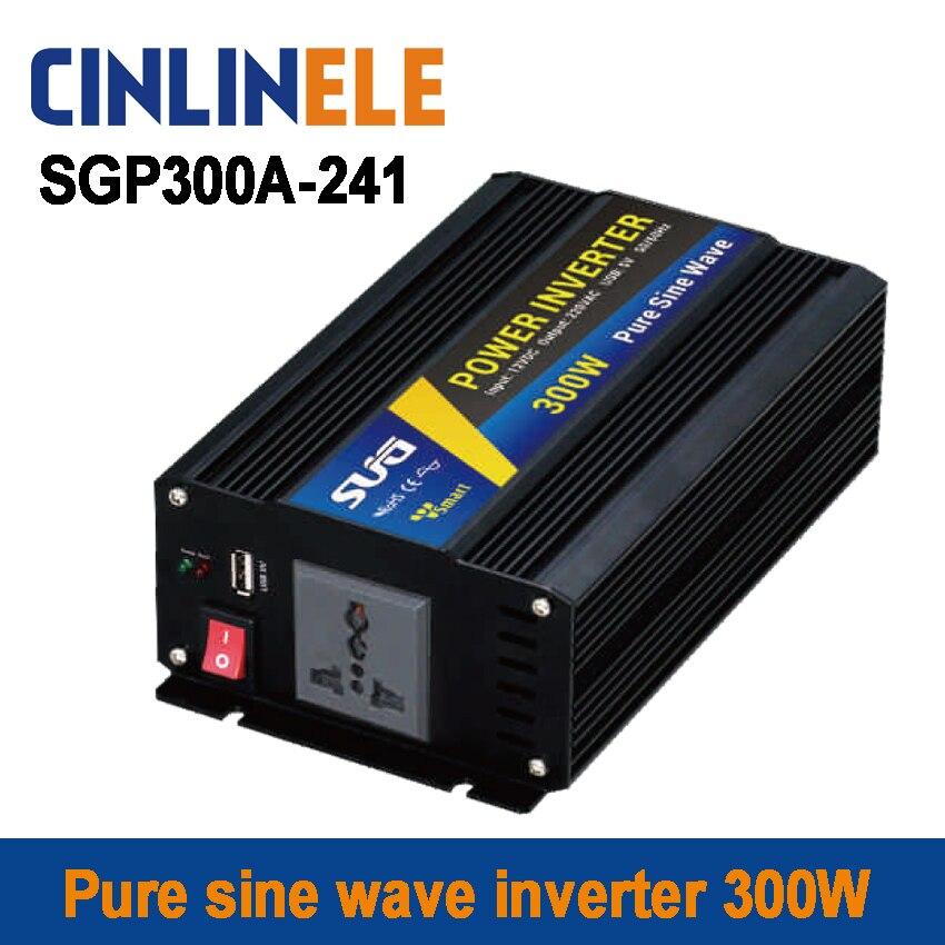 Smart Series Pure Sine Wave Inverter 300W SGP300A-241 DC 24V to AC 110V 300W Surge Power 600W<br><br>Aliexpress