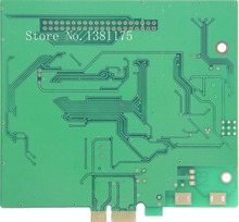 Low Cost One Layer PCB Boards Prototype Manufacturer, FR4 1.6mm, HASL, 1/1OZ, Green, Free Shipping 015(China)