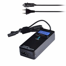 POW-ULA90 Laptop Notebook Power 90W Universal Charger with Car Charger & EU Plug Power Adapter & 12 Power Adapters