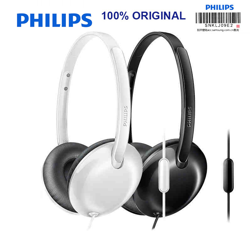 Philips SHL4405 Bass Wired Headset with Wire Control Noise Reduction Function for Galaxy 8 Huawei Official Verification<br>