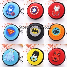 Headphone Cases Earphone Storage Bag Case Headset Earbuds Key Coin Hard Holder Box Carrying Hard Hold Case Memory Card Ear Pads(China)