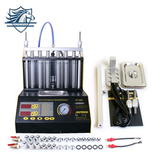 AUTOOL CT200 Gasoline Car Motorcycle Auto Ultrasonic Fuel injector cleaning tester machine 220V/110V bettr than CNC-602A CNC602A