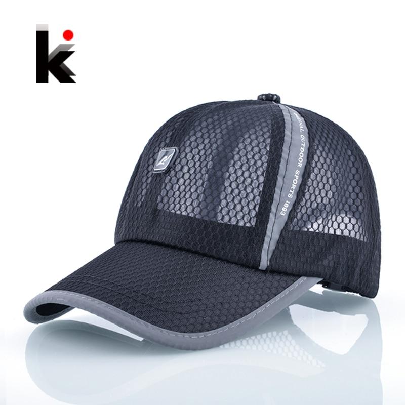 2017 Sun Hats For Men Baseball Cap Women Drake Snapback Girl s Casual Caps Breathable Mesh Summer Hat Casquette<br>