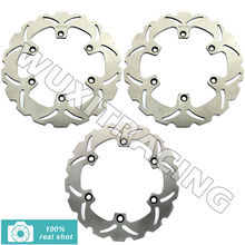 93 94 95 96 97 98 99 Motorcycle Front Rear New Full Set Brake Discs Rotors for Honda VFR 750 F VFR750F 1988 1989 CBR 1000 F FP(China)