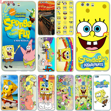 Lavaza SpongeBob SquarePants Sponge Bob Hard Case Cover for Huawei P10 P9 Lite Plus P8 Lite G7 & Honor 8 Lite 7 4C 4X