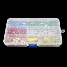 120PCS/Lot Small Size Type Auto Car Boats Trucks Blade Fuses 5 7.5 10 15 20 25 30 40 AMP High Quality New