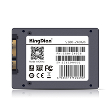 (S280-240) KingDian Free Shipping High Performance Solid Hard Drive SATAIII 2.5 TLC Flash Internal Style SSD 240gb 256gb(China)